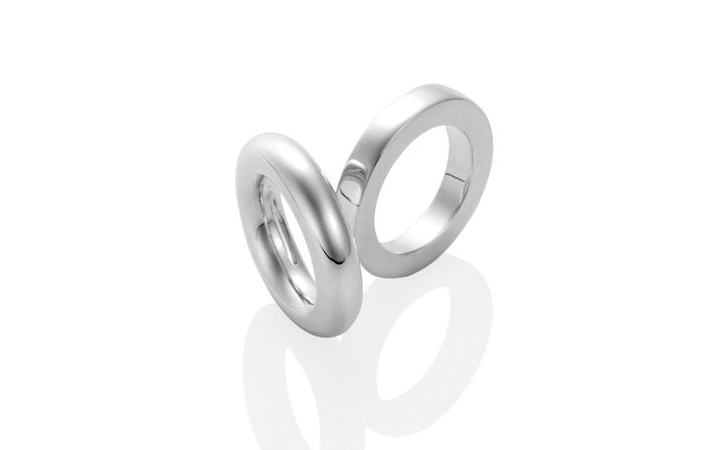Square and round profile rings